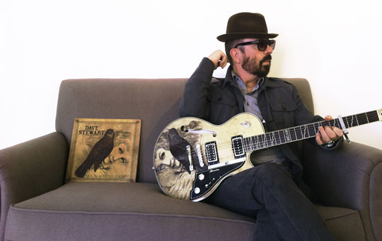 Dave Stewart with his Duesenberg