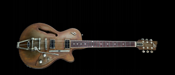Duesenberg Starplayer TV Custom Shop Rusty Steel